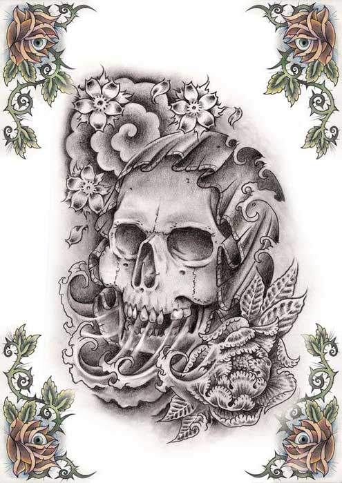 best skull tattoos ever