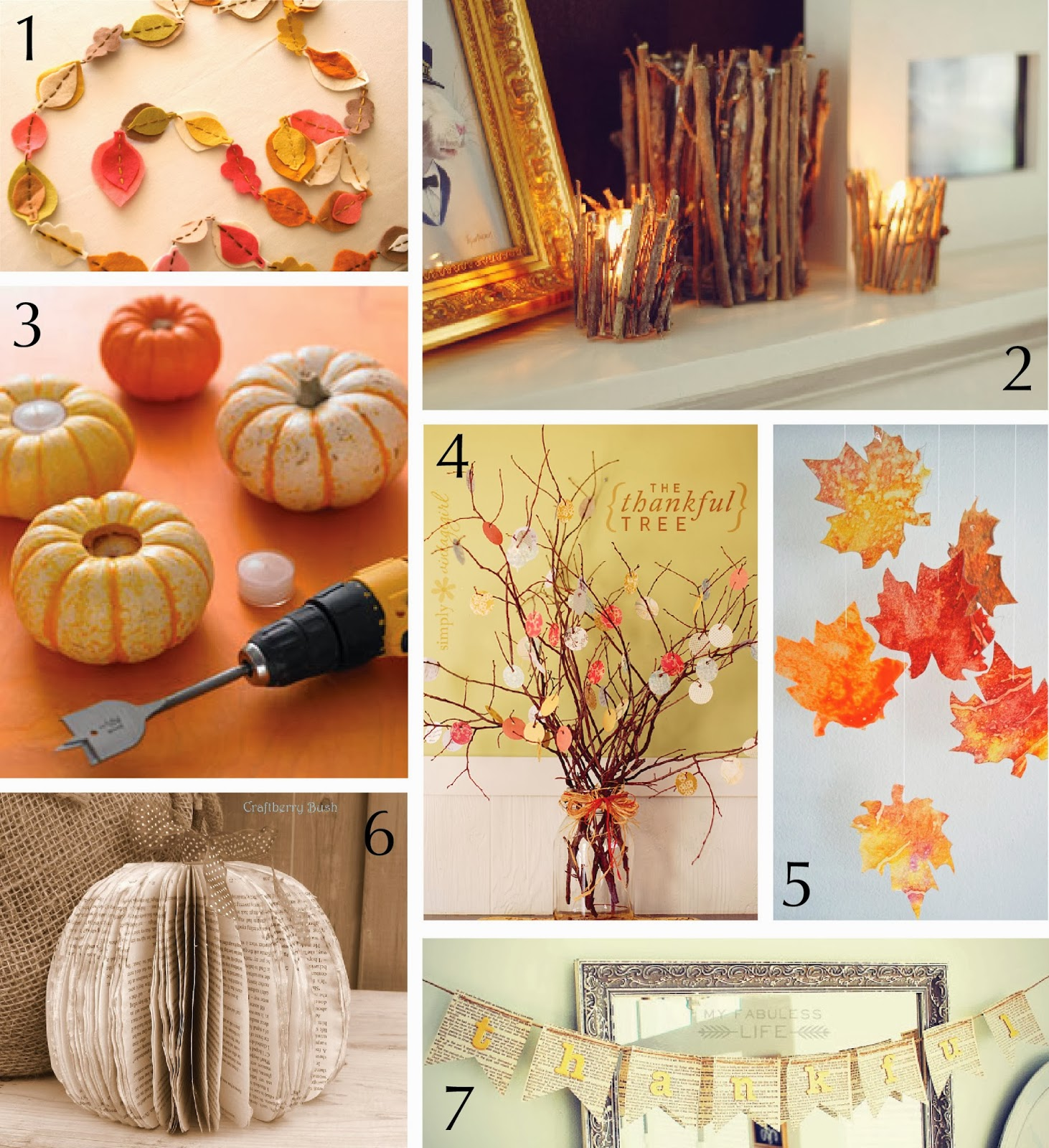 Diy fall crafts 28 images 5 autumn leaf crafts chalk for Easy diy fall crafts