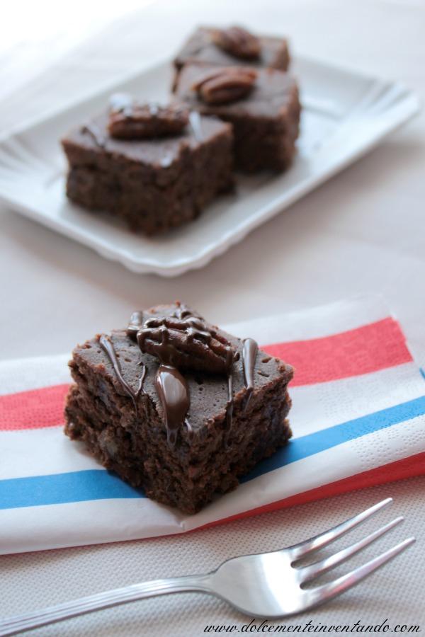 chocolate pecan brownies per il 4 luglio...