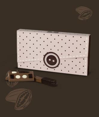 czekoladowa kopertówka