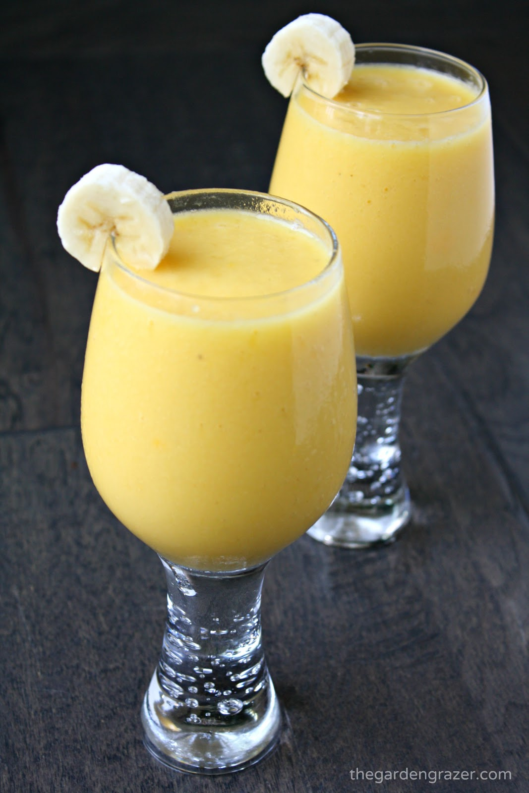The Garden Grazer Tropical Sunshine Smoothie
