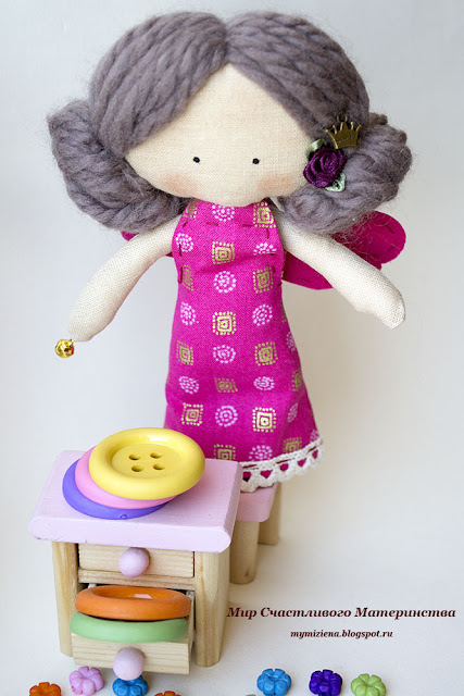 кукла из хлопка
