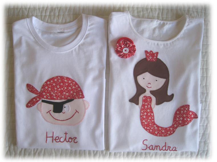 Camisetas personalizadas lazos de tul for Aplicaciones decoradas