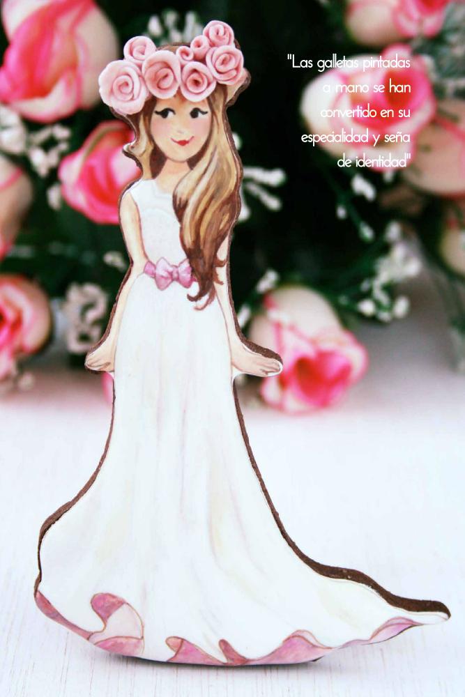 Galletas con efecto rústico y pintura 2D para Sweet Magazine