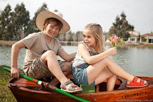 sandalias infantiles verano 2014