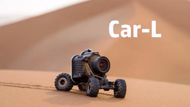 Xe tự hành Car-L điều khiển từ xa chụp ảnh