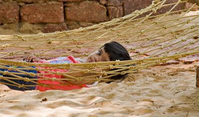 Anisha at Tarkarli
