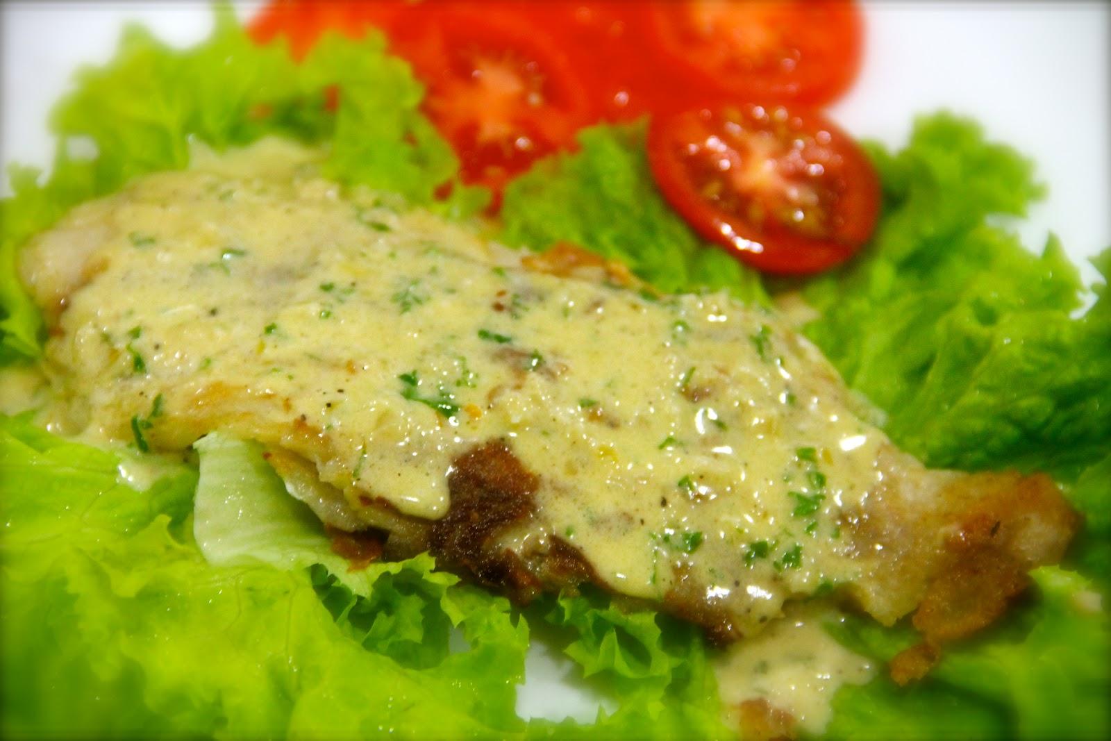 how to make lemon sauce for fish fillet