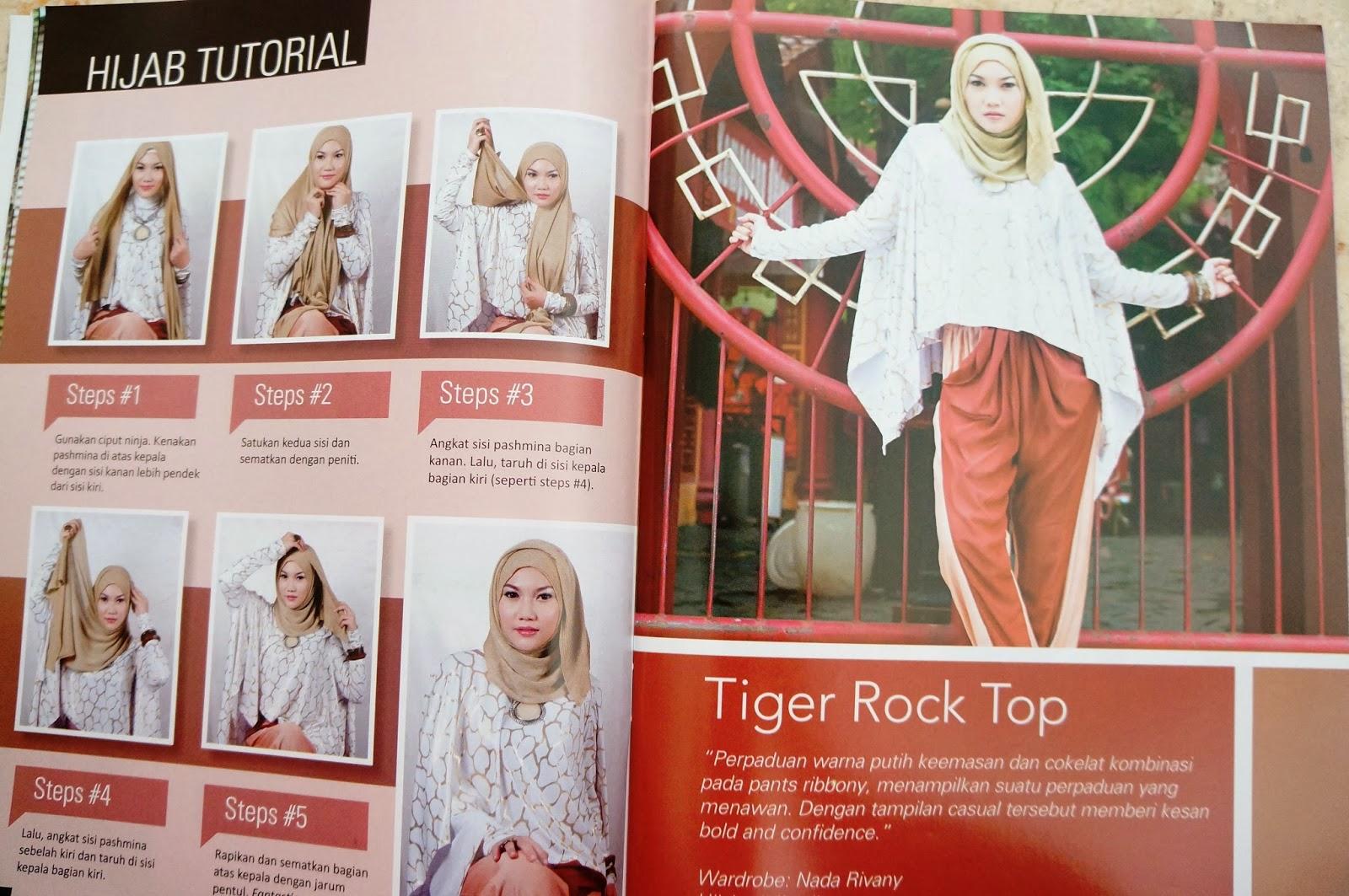 Tutorial Hijab : Tren Headscarf Masa Kini | Get2i Area