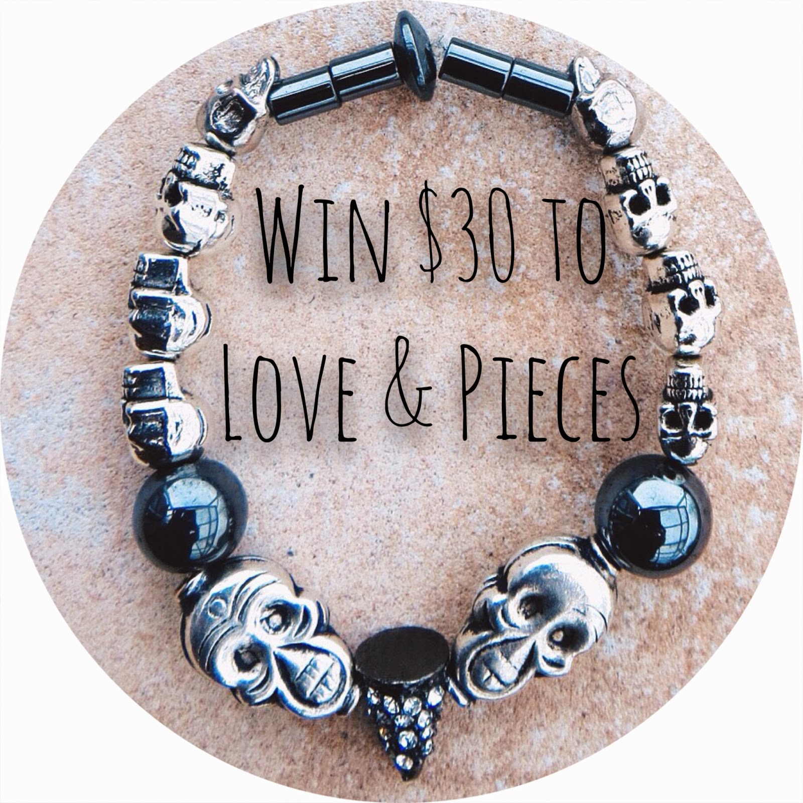 Love & Pieces, giveaway, freebie friday, contest, sweepstakes