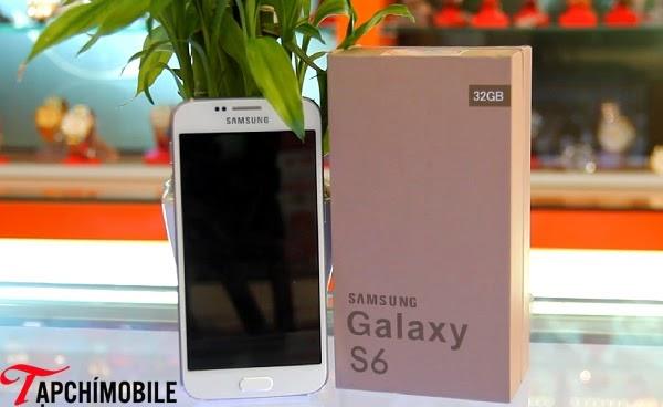 Màn hình của Samsung Galaxy S6 Trung Quốc