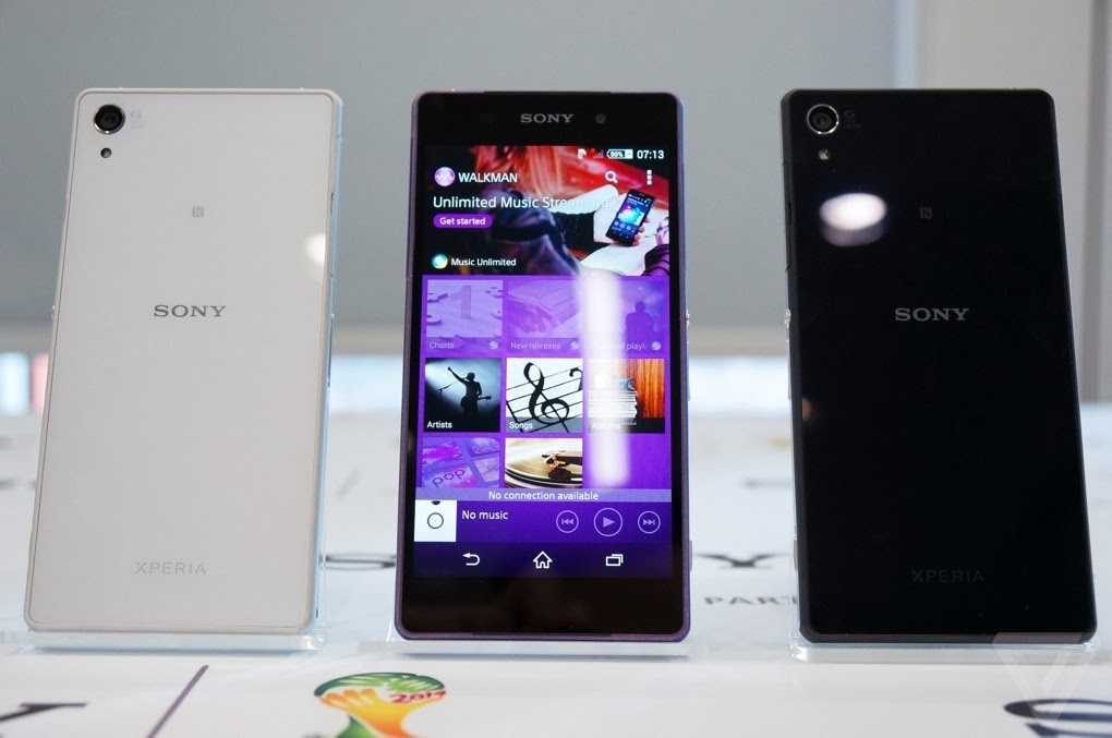 Sony's Xperia Z2 launced with 4K video recording and 3gb ram