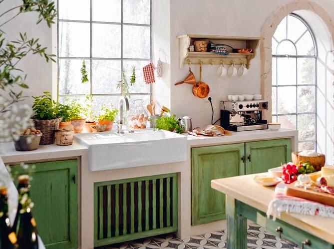Decotips tips para dar un toque retro a la cocina - Cocinas retro vintage ...