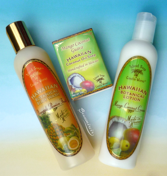 Hawaiian Beauty: bath and body products from Hawaii by Island Soap & Candle Works