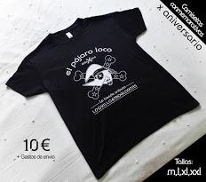 Pide tu camiseta X aniversario!