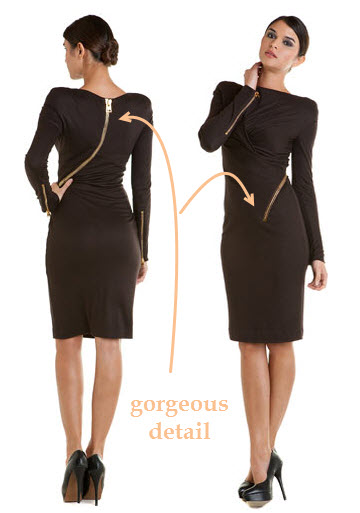 Tom Ford zipper dress