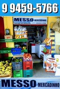 MESSO MERCADINHO - ENTREGAMOS EM DOMICÍLIO