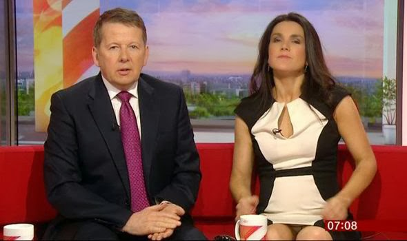 News Oops Susanna Reid Flashes Her Knickers On Bbc