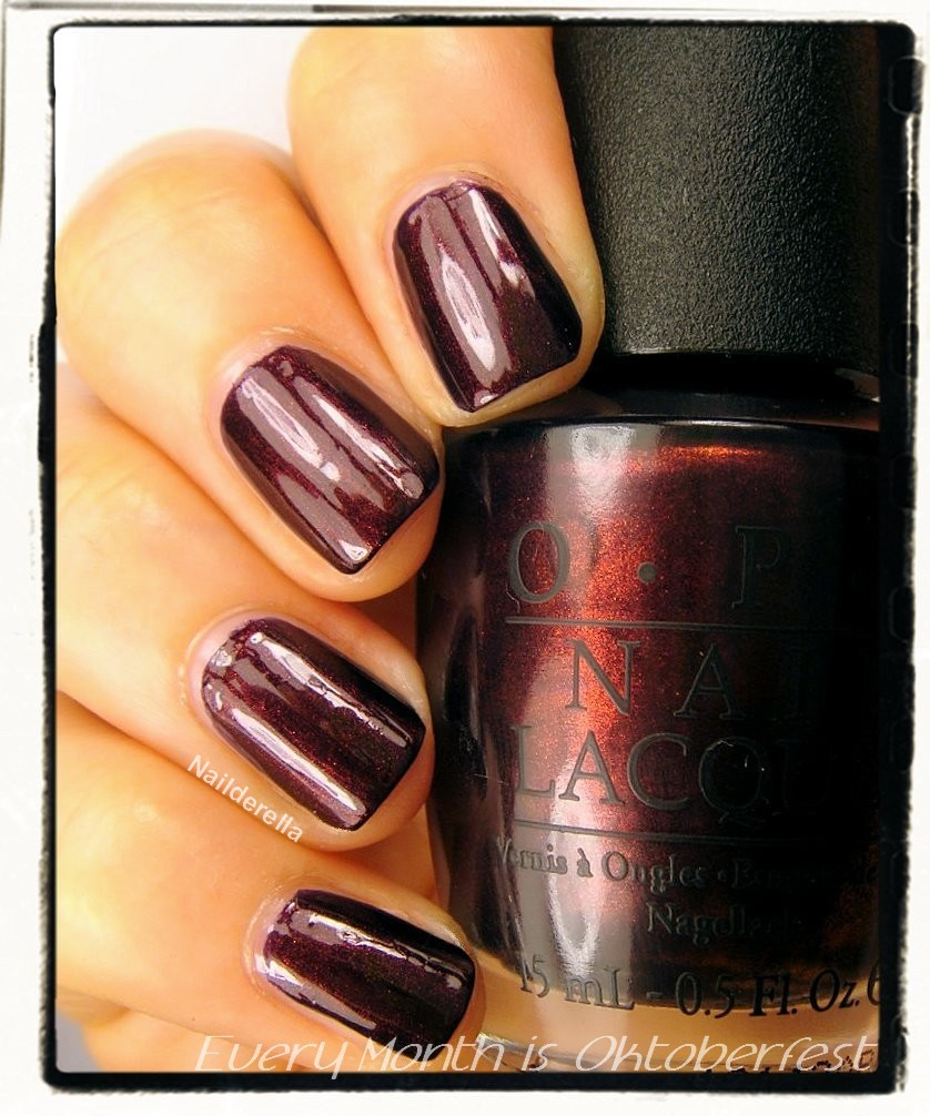 OPI Germany: The Gems - swatches - Nailderella