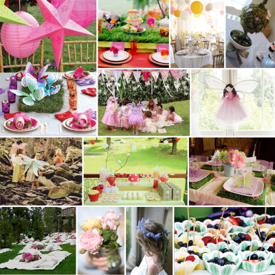 All Dream Home: Garden Party Decorating Ideas