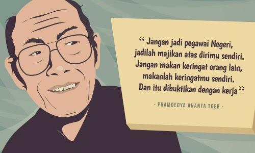 kalangkang mencrang quotes from pramoedya ananta toer
