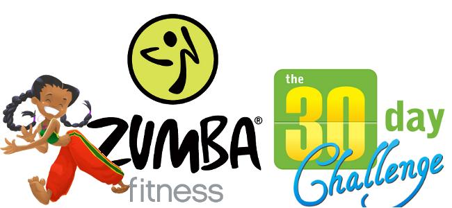 30 Day Zumba Challenge