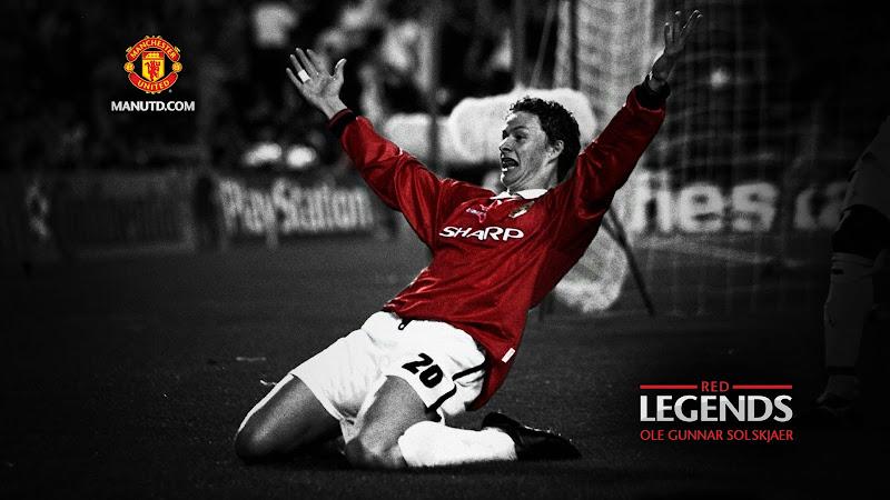 Mystery Wallpaper: Ole Gunnar Solskjaer: Red Legends Manchester United title=