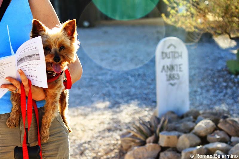 Dutch Annie Boothill Graveyard Tombstone AZ