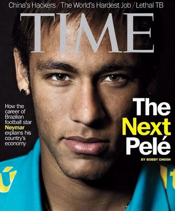 Neymar graces TIME magazine cover