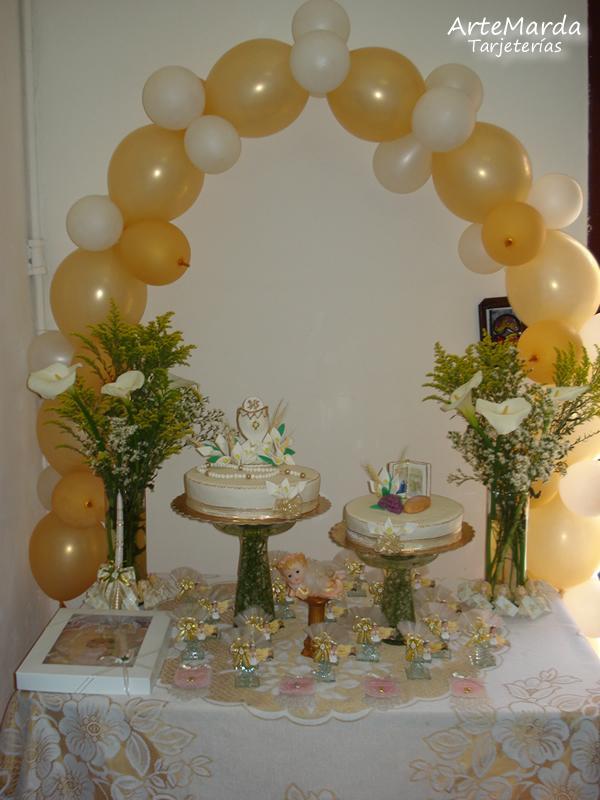 Decoraciones - Decoracion para primera comunion ...
