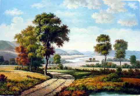 artblog: Kumpulan Wallpaper / Lukisan Pemandangan Alam