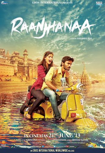 Raanjhnaa (2013) Movie Poster