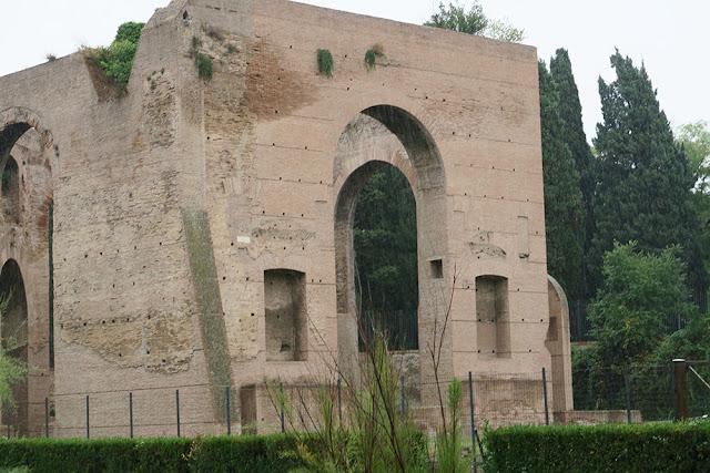 Roman baths ruins