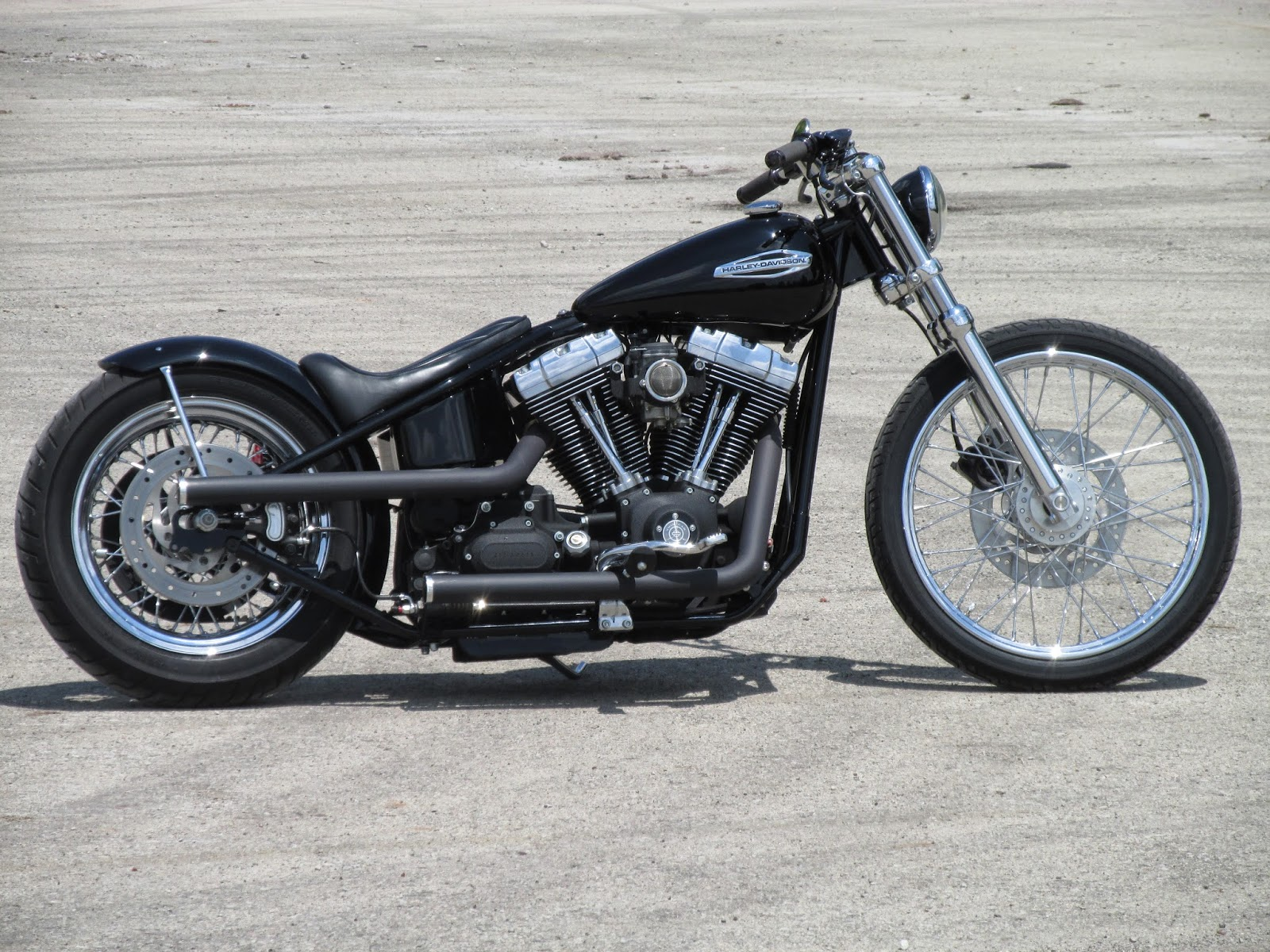 Luke Bruheim: Twin Cam Rigid Dyna Chopper