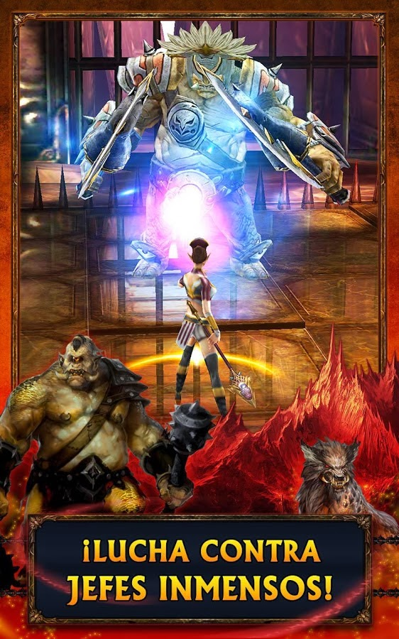 Eternity Warriors 3 para Android e iOS