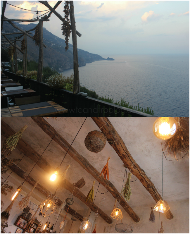 kasai restaurant, praiano, italy