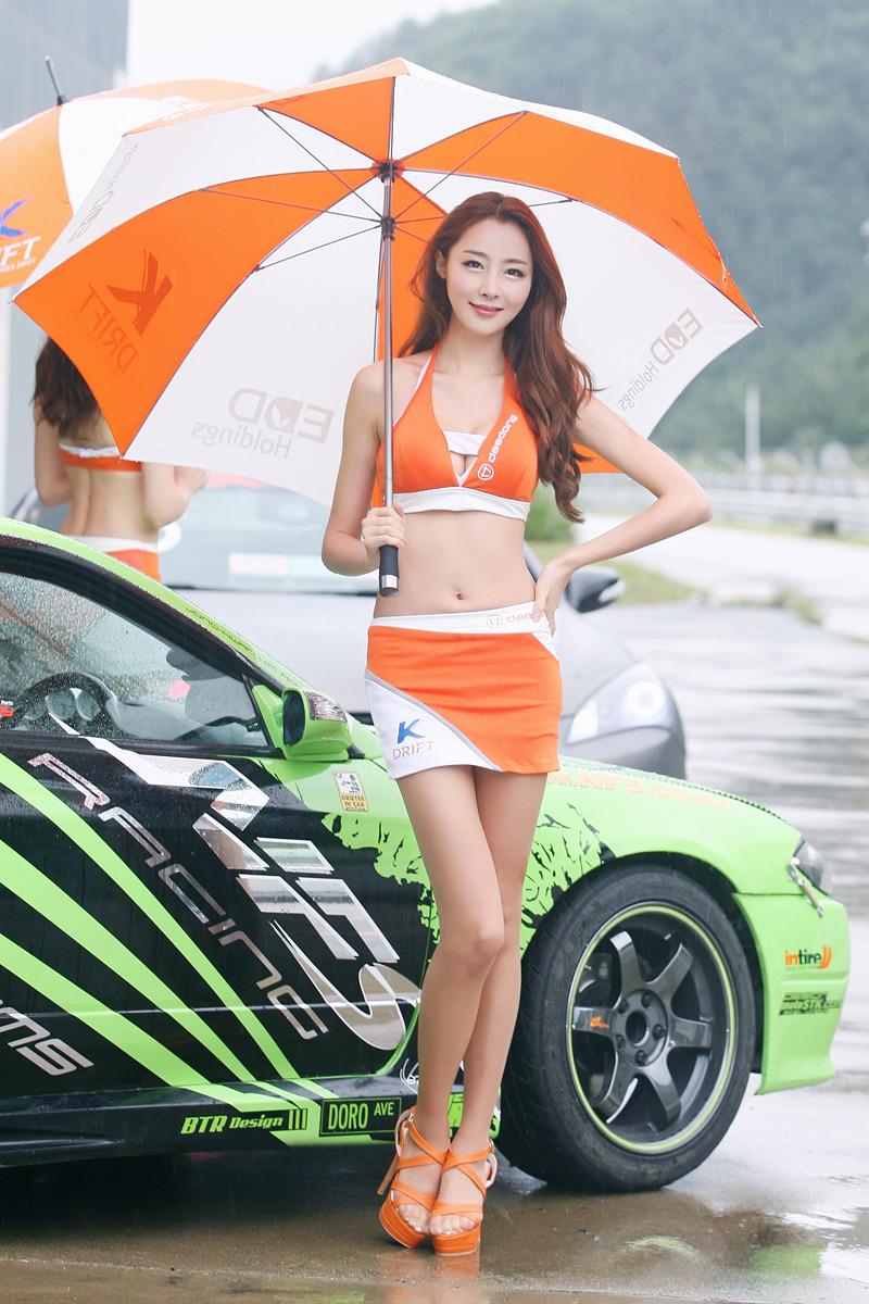 Eun Bin at at CJ SuperRace R6 2012