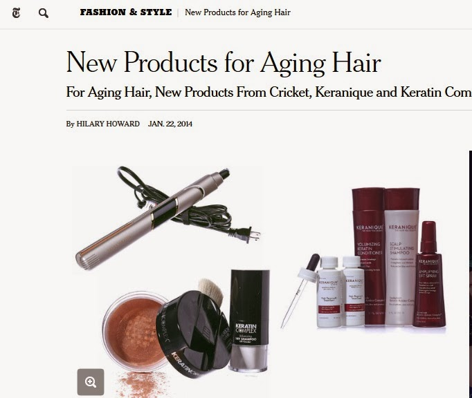 http://www.nytimes.com/2014/01/23/fashion/aging-hair-Cricket-Keranique-Keratin-Complex.html