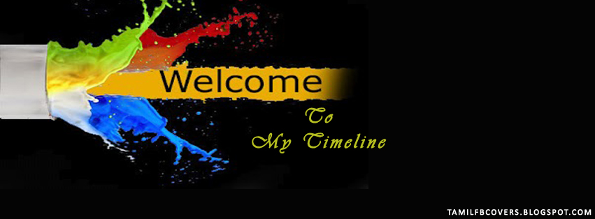 My India FB Covers: Welcome to my timeline - Welcome FB Cover