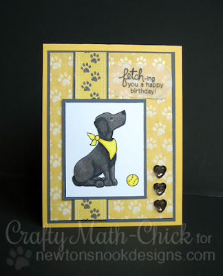 Labrador Retriever birthday card | Fetching Friendship by Newton's Nook Designs