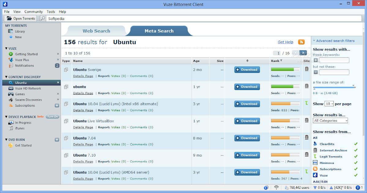 Vuze Bittorrent Client Full Crack Free Download ~ Software