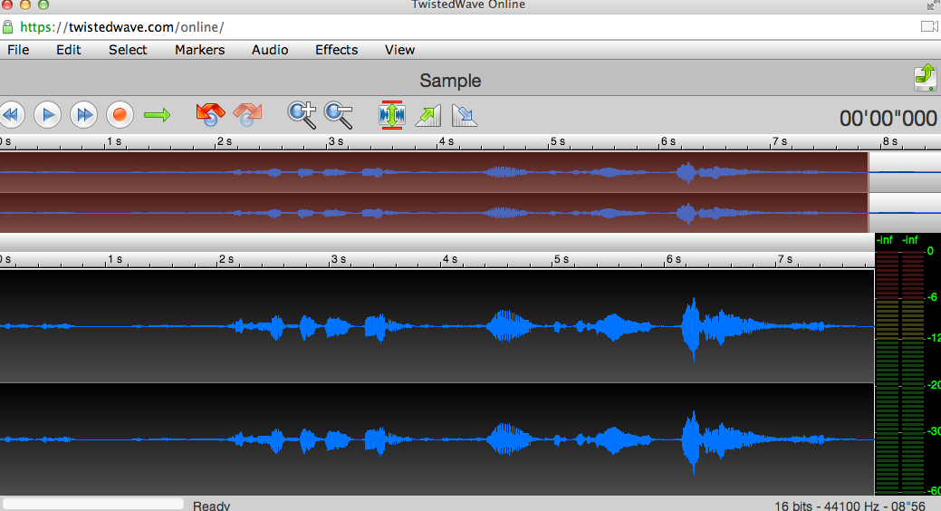 Free Technology for Teachers: TwistedWave - Create Audio Recordings and Save Them in Google Drive