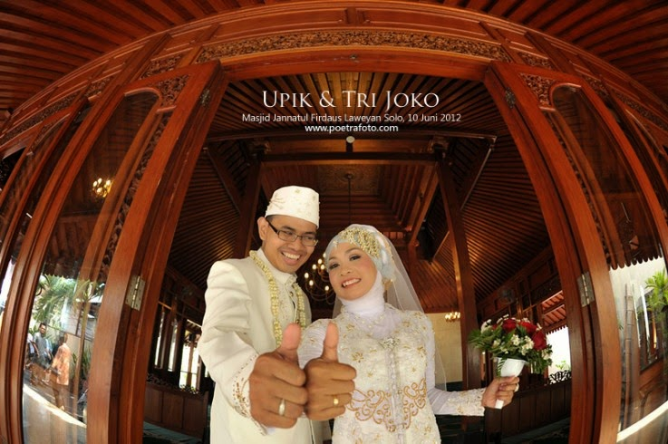 baju pengantin modern islam