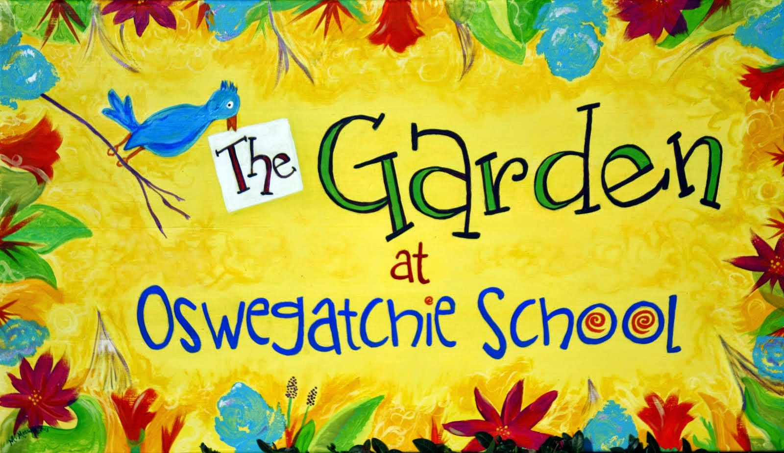 The Garden at Oswegatchie School