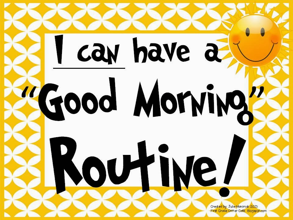 http://www.teacherspayteachers.com/Product/I-Can-Have-a-Good-Morning-Routine-Task-Cards-812232