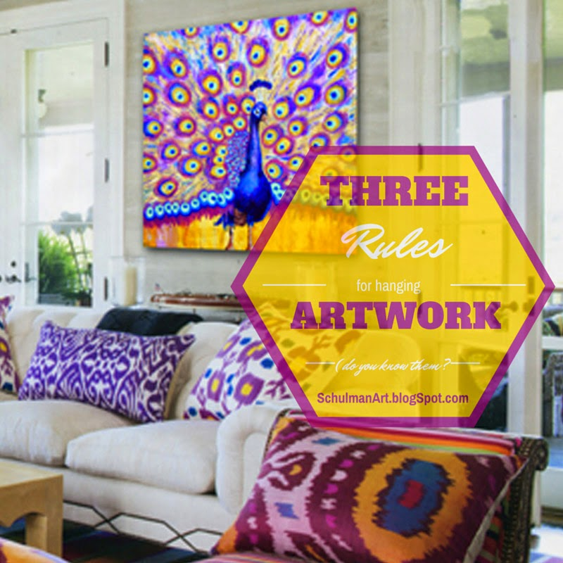 Decorating Tips for Hanging Artwork | Schulman Art