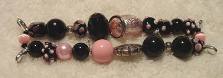 Pink & Black Bumps