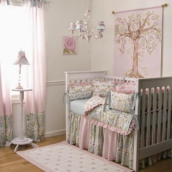 Cuartos de beb s de ni a imagui for Dormitorios bebe nina