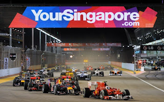 2012 Singapore Formula 1 GP Ticket pict