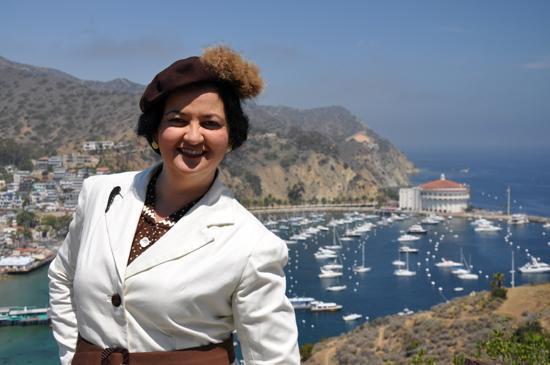 Catalina Island Casino Avalon 1930s dress